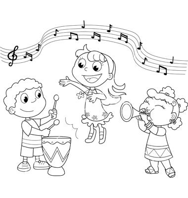 Dibujos Para Colorear De Niños Bailando Rock ~ Ideas Creativas Sobre ...