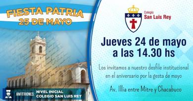 Fiesta Patria - Desfile institucional
