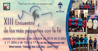 XIII Encuentro de los mas pequeños con la Fe